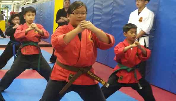 Advanced Karate (Sparring)
