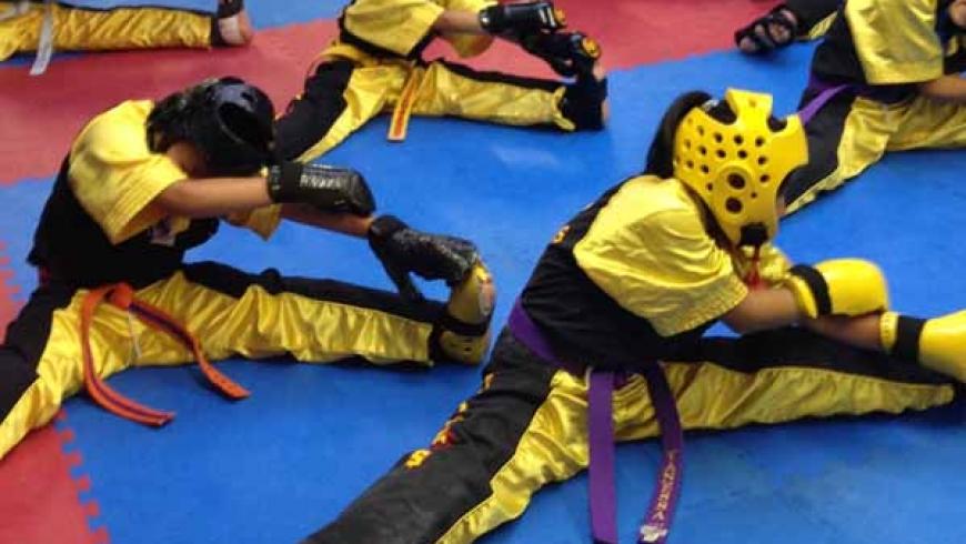 Intermediate Karate (Sparring)