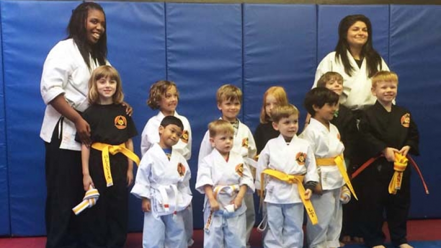 Beginner Karate- Forms and Self-Defense