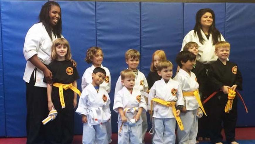 Beginner Karate- Forms and Self-Defense