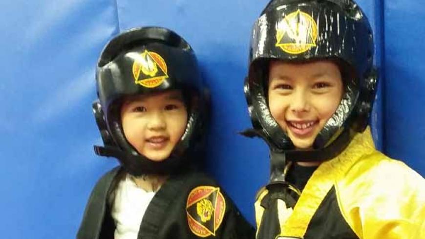 Beginner Karate (Sparring)