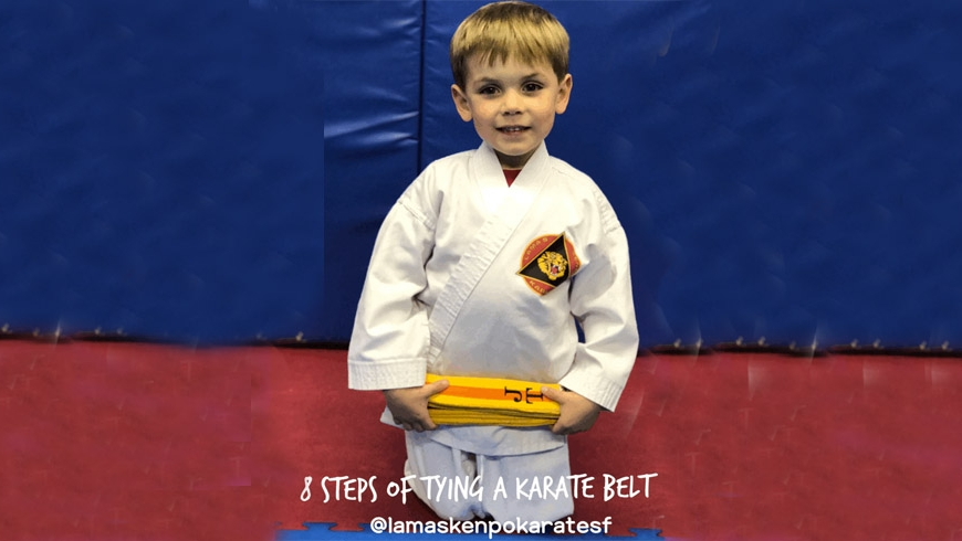 8 Steps to Tying a Karate Belt