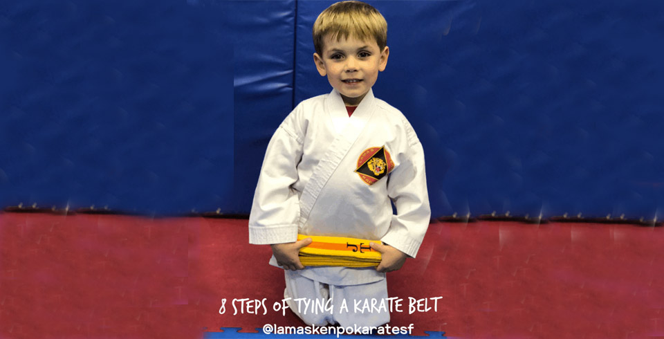 8 Steps to Tying a Karate Belt